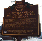 73-25 St. Patrick Historical Marker Side 2