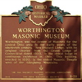 8-25 Worthington Masonic Museum