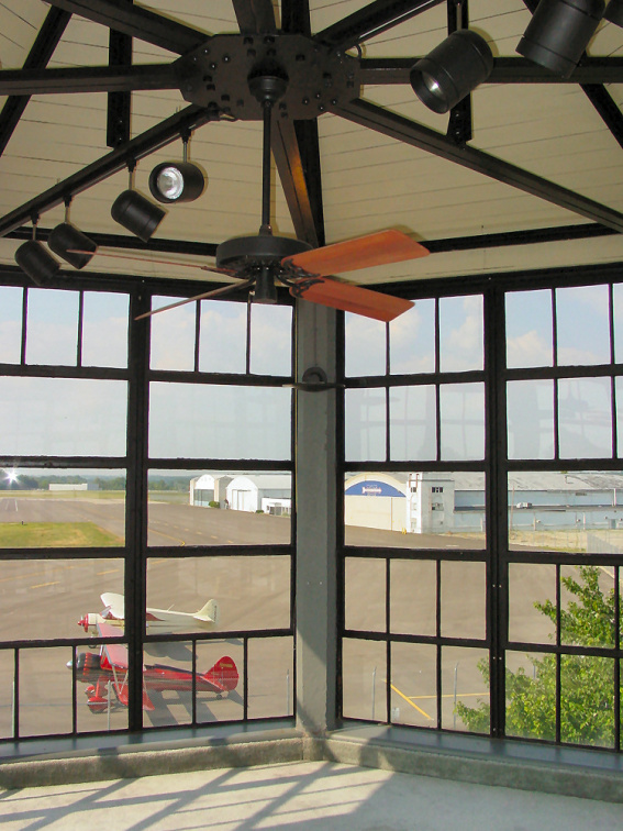 94-25 View from the Original Port Columbus Airport Control Tower