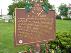 1-26 The Marker in front of the Sauder Village complex in Archbold