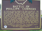 2-26 Battle of Phillips Corners Marker 5-21-09