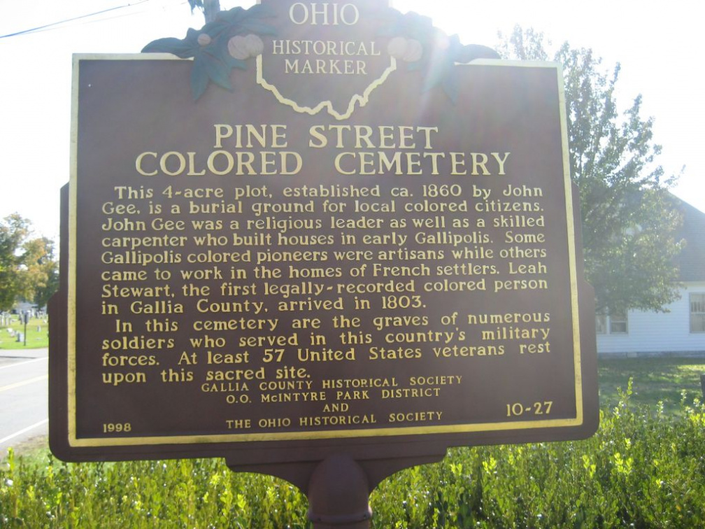 10-27 Pine Street Colored Cemeterya