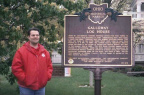 10-29 Galloway Log House Marker (Side 1)