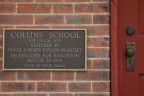 11-29 Collins School Plaque