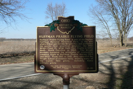 13-29 Huffman Flying Field Marker