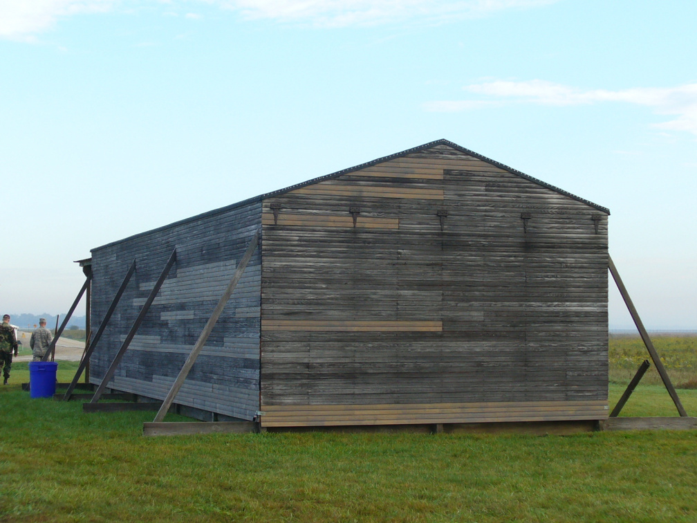 13-29 Reconstruction of Wright Brothers' Barn