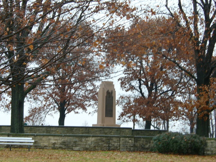 13-29 Wright Memorial, near Flying Field, from distance