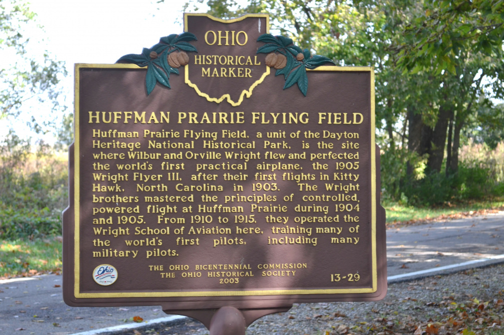 13-29 Huffman Prairie Flying School Marker