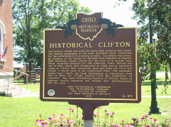 5-29 Clifton Historical Marker