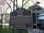 19-31 Sheriff Hawkins side of marker