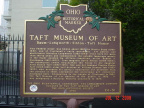 24-31 Taft Museum of Art Marker