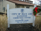25-31 Sign for community center