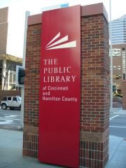 51-31 Public Library sign