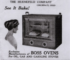 59-31 Advertisement for a glass door oven.