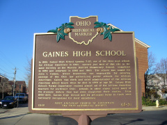 65-31 Gaines HS side of marker