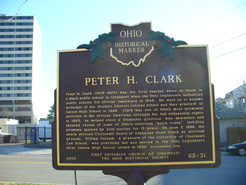 65-31 Clark side of marker