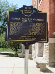 86-31 James Norris Gamble Marker - Side 1