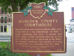 5-32 The Marker on the front lawn of the Court House