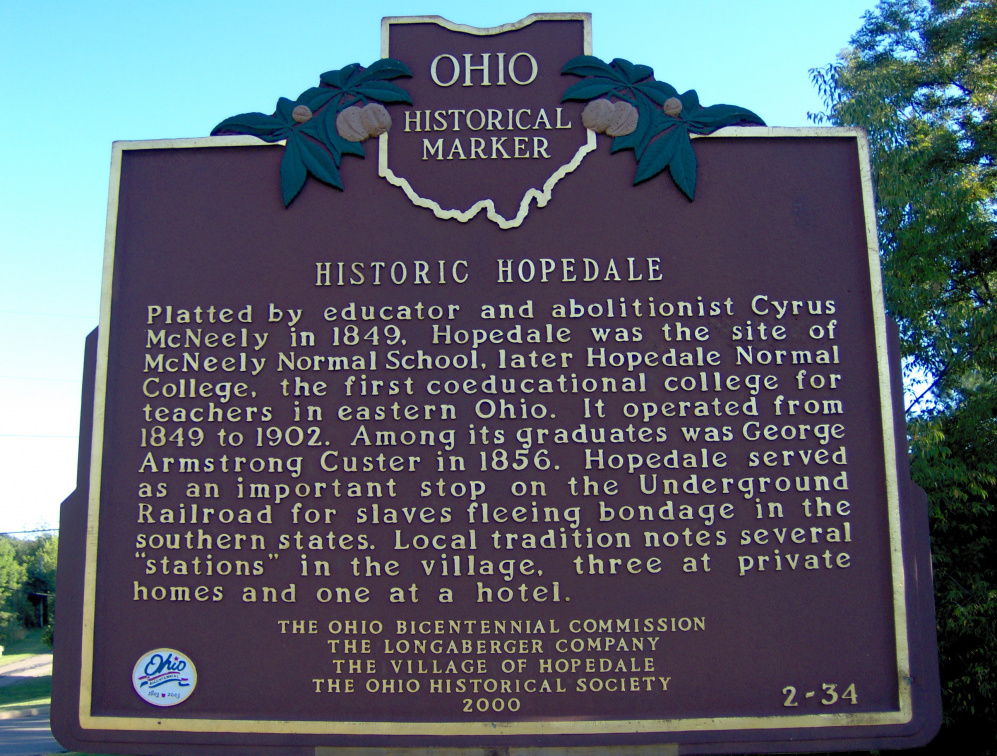 2-34 Hopedale marker side