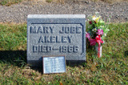 4-34 Mary L. Jobe Akeley (Grave Site)