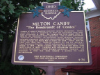 4-36 Milton Caniff historical marker