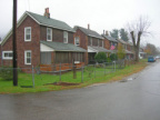 4-37 Company houses on the westside of Haydenville Road