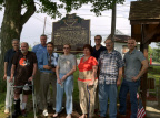 12-41 Descendants of Wm. Pittenger at the marker's dedication, Aug. 2, 2014