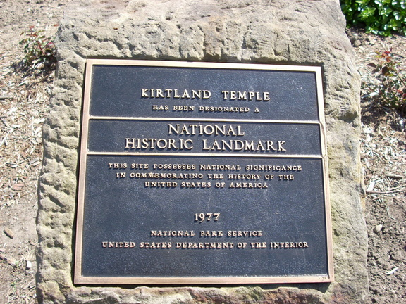 3-43 National Historic Landmark marker