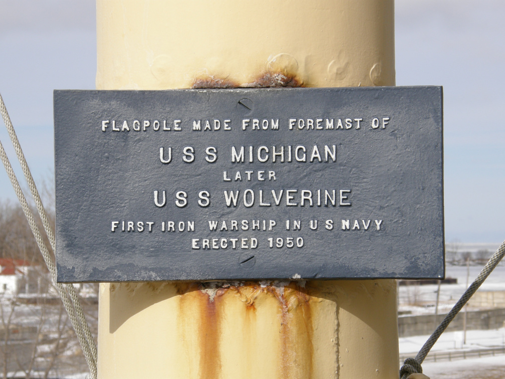 5-43 Marker on museum flagpole