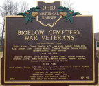 17-45 New Bigelow Cemetery Marker Rear