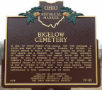 17-45 New Bigelow Cemetery Marker Front