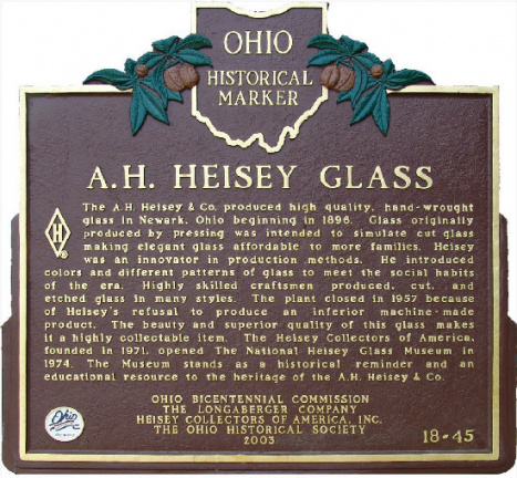 18-45 A. H. Heisey Glass