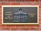 24-45 Pataskala Elementary School Dedication Plaque