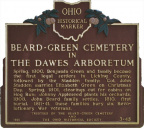 3-45 Beard - Green Cemetery in The Dawes Arboretum