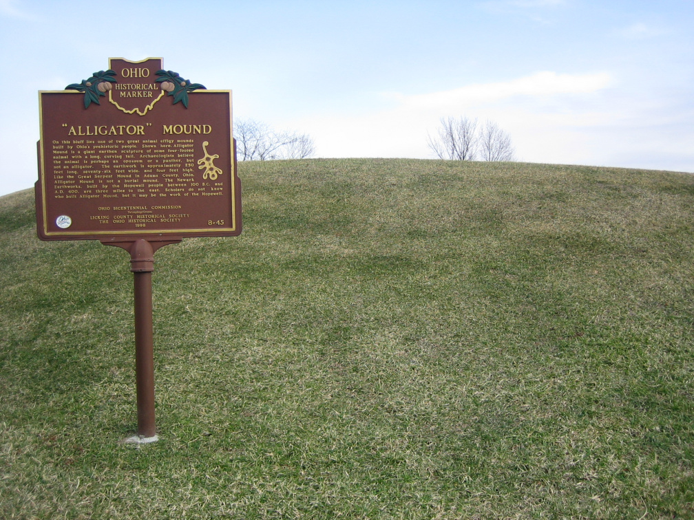8-45 Marker at the Mound