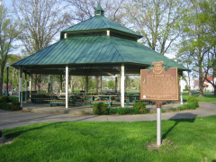 10-47 Marker near Gazebo