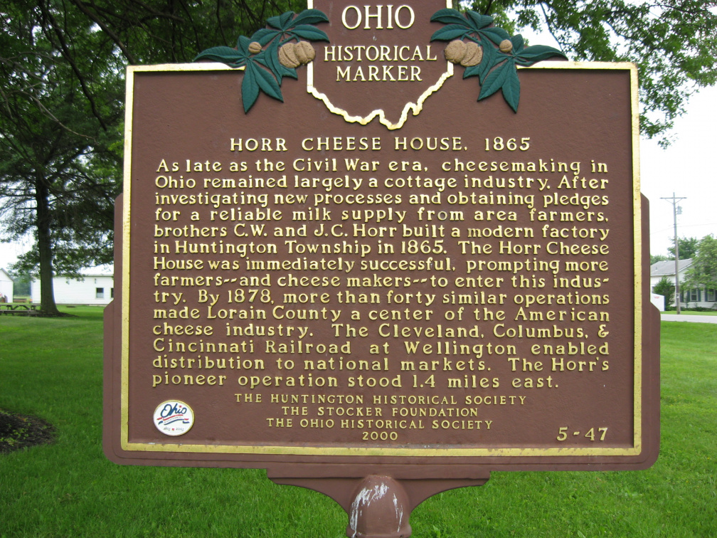 5-47 Horr Cheese House Marker