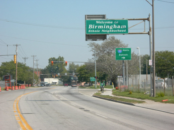 16-48 Entering Birmingham on Front St. at I-280