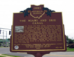 40-48 Miami & Erie Canal Marker 7-7-13