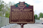 54-48 Toledo and Western Railroad Company (A)