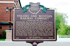 54-48 Toledo and Western Railroad Company (B)