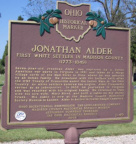 1-49 Jonathan Alder, First White Settler in Madison County (1773-1849)