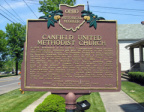 19-50 Canfield United Methodist Church Marker