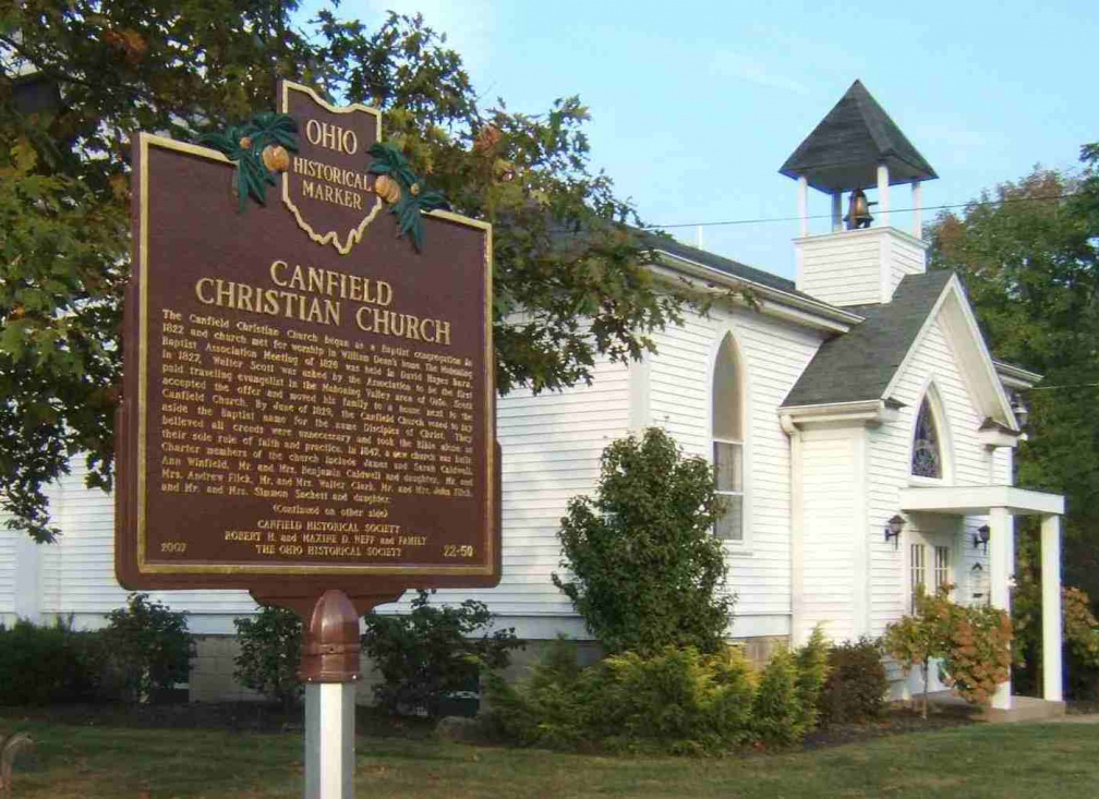 22-50 Canfield Christian (Disciple) Church