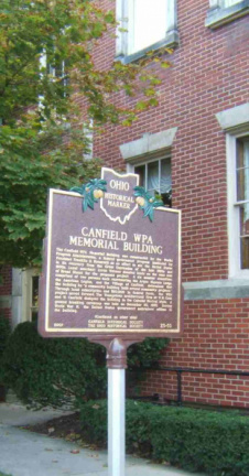 23-50 Canfield WPA Memorial Building