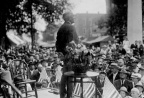 1-51 Warren G. Harding Addressing Campaign Supporters