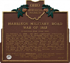 10-51 Harrison Military Road War of 1812