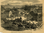 12-53 Morgan's Raid Route - Pursuers converge on Pomeroy / Meigs County Courthouse