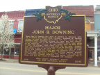 20-53 front of Downing sign