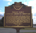 4-55 Piqua's Early African-American Heritage / Goodrich Giles